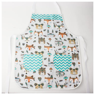 Elephant Ollie Cotton Pocket Kids Apron – Tribal Animals | Koop.co.nz