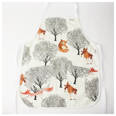 Elephant Ollie Cotton Flat Front Kids Apron – Moose & Fox | Koop.co.nz