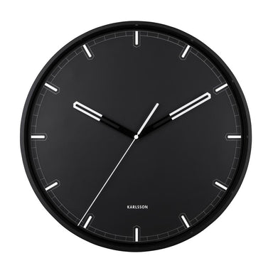 Karlsson Dipped Wall Clock - Black (40cm) | Koop.co.nz