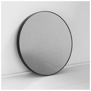 NED Collections Black Round Mirror - Small (50cm) | Koop.co.nz