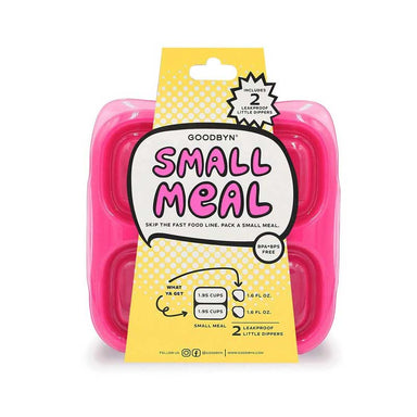 Goodbyn Small Meal & Dippers - Neon Pink Red | Koop.co.nz