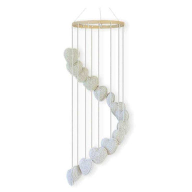 O.B Designs Falling In Love Baby Mobile - Natural | Koop.co.nz
