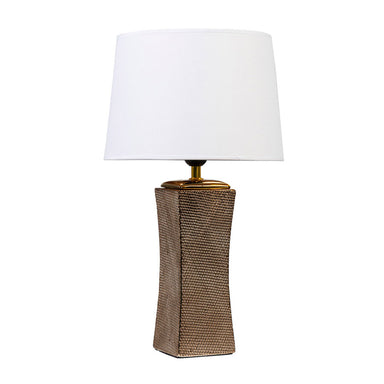 Linens & More Golden Net Lamp (49cm) | Koop.co.nz
