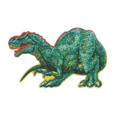 Peaceable Kingdom Shiny Dinosaur Floor Puzzle (51pc) | Koop.co.nz
