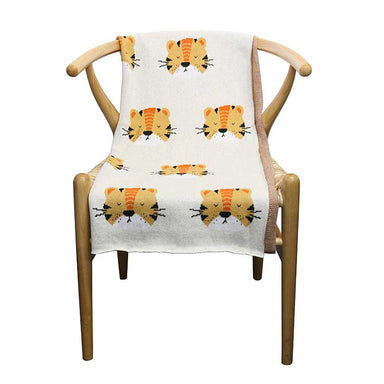 Le Forge Baby Throw Blanket – Tiger | Koop.co.nz