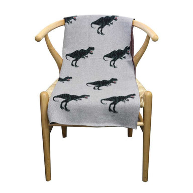 Le Forge Baby Throw Blanket – Dinosaur | Koop.co.nz