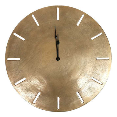 Le Forge Songo Clock - Antique Brass (58cm) | Koop.co.nz
