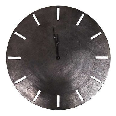 Le Forge Songo Clock - Black (58cm) | Koop.co.nz