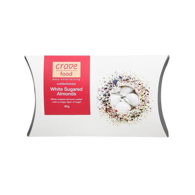 Crave Food White Sugared Almonds | Koop.co.nz