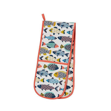 Ulster Weavers Cotton Aquarium Double Oven Glove | Koop.co.nz
