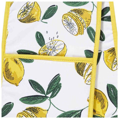 Ulster Weavers Cotton Lemons Double Oven Glove | Koop.co.nz
