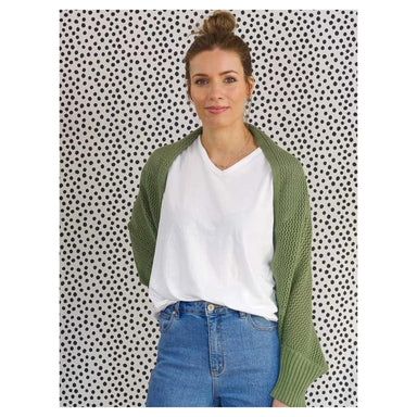 Hello Friday Crowd Pleaser Cardigan – Sage | Koop.co.nz