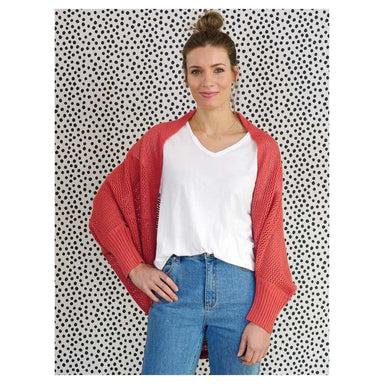 Hello Friday Crowd Pleaser Cardigan – Terracotta | Koop.co.nz