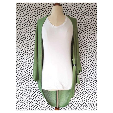 Hello Friday Flo Cardigan – Sage | Koop.co.nz