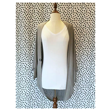 Hello Friday Flo Cardigan – Grey | Koop.co.nz
