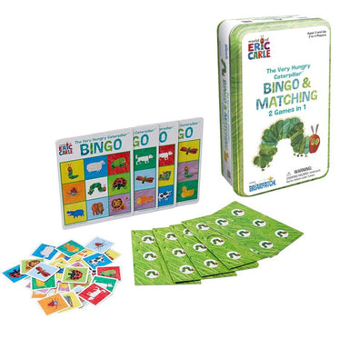 Briarpatch Eric Carle - The Very Hungry Caterpillar Bingo & Matching Games Tin | Koop.co.nz