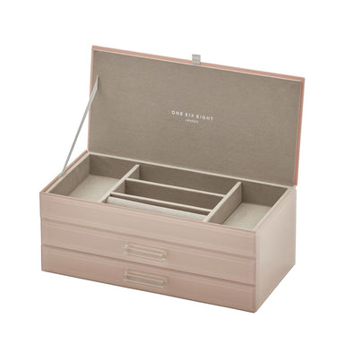 One Six Eight Gabriella Jewellery Box - Large Blush | Koop.co.nz