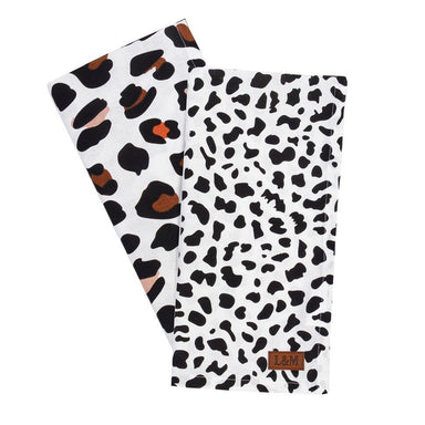 Linens & More Ocelot Tea Towel Set (2pc) | Koop.co.nz