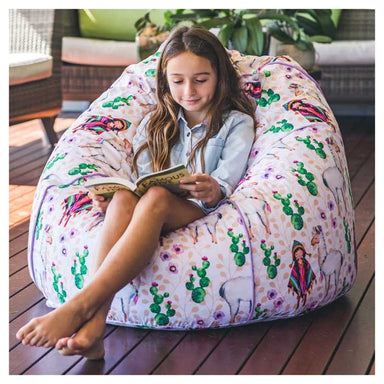 Cocoon Couture Kids Peruvian Friends Bean Bag & Liner - Large | Koop.co.nz