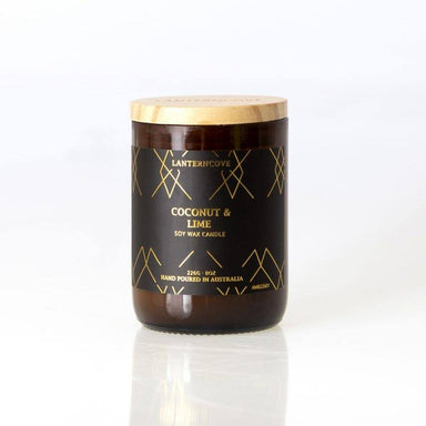 Lantern Cove Amberesque Candle – Coconut & Lime | Koop.co.nz