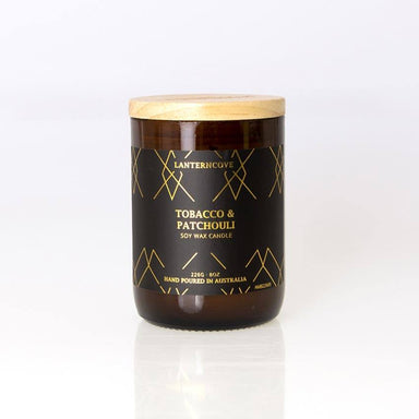 Lantern Cove Amberesque Candle – Tobacco & Patchouli | Koop.co.nz