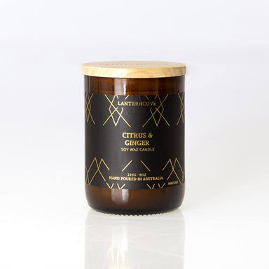 Lantern Cove Amberesque Candle – Citrus & Ginger | Koop.co.nz