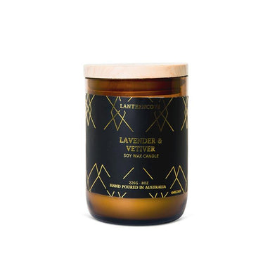 Lantern Cove Amberesque Candle – Lavender & Vetiver | Koop.co.nz