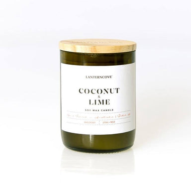 Lantern Cove Jade Candle – Coconut & Lime | Koop.co.nz