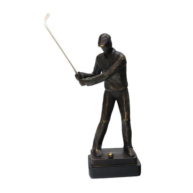 Le Forge Golfer Chipping Sculpture | Koop.co.nz