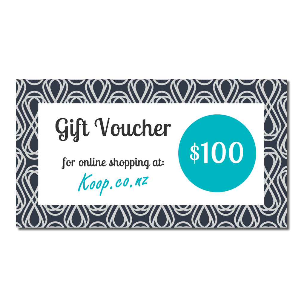 Koop $100 Gift Voucher | Koop.co.nz