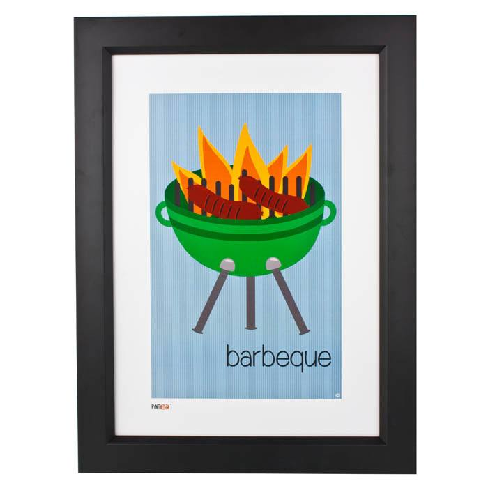 Pint Size Barbeque Print (A3) | Koop.co.nz