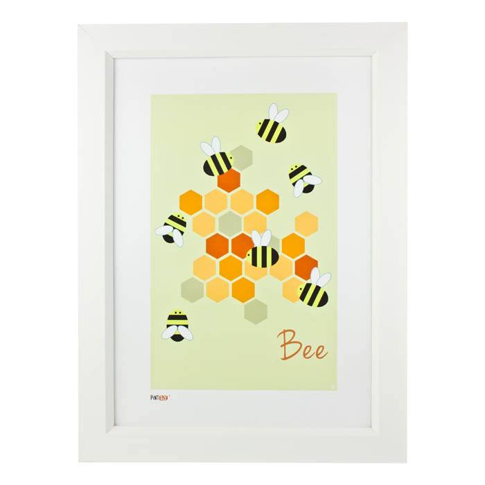 Pint Size Bee Print (A3) | Koop.co.nz