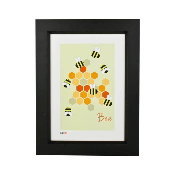 Pint Size Bee Print (A4) | Koop.co.nz
