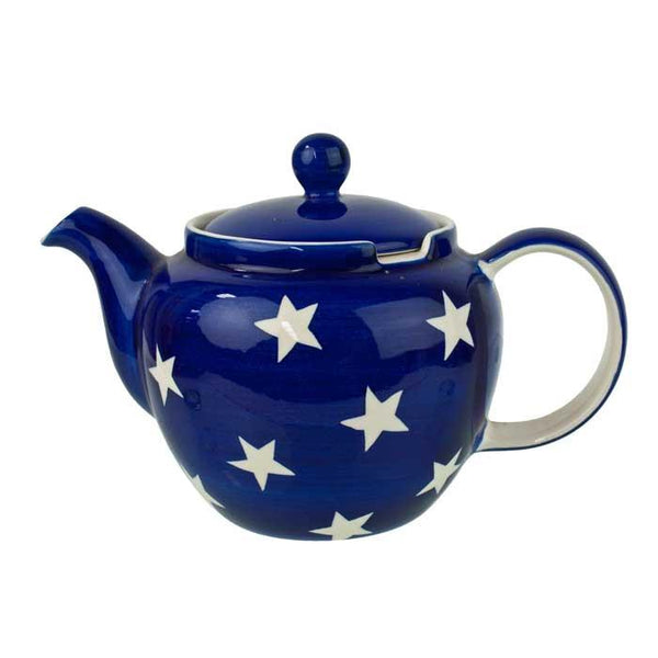 Whittard Blue Star Teapot 1.1L | Koop.co.nz