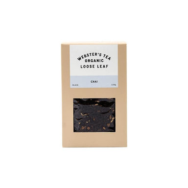 Webster's Tea Organic Loose Leaf Chai Tea (120g) | Koop.co.nz