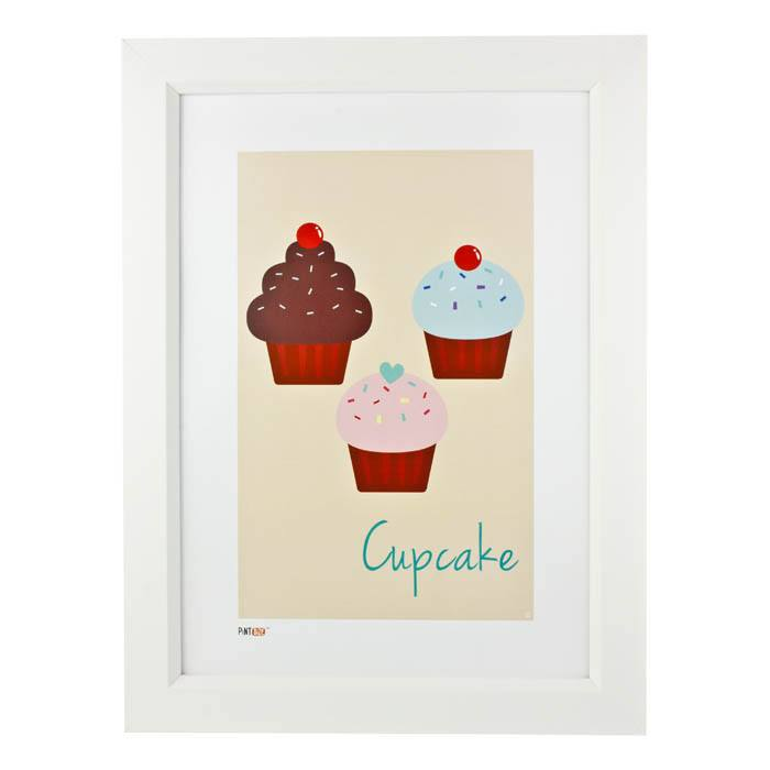 Pint Size Cupcake Print (A3) | Koop.co.nz