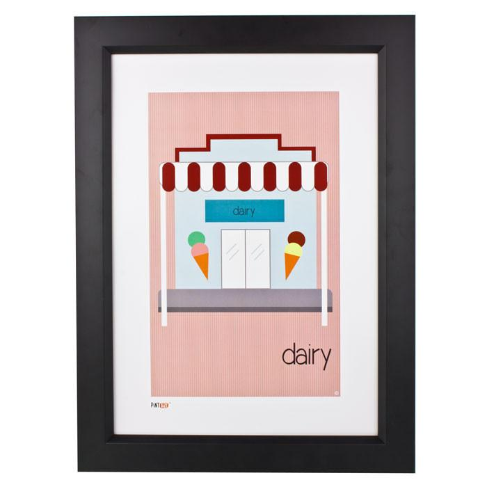 Pint Size Dairy Print (A3) | Koop.co.nz