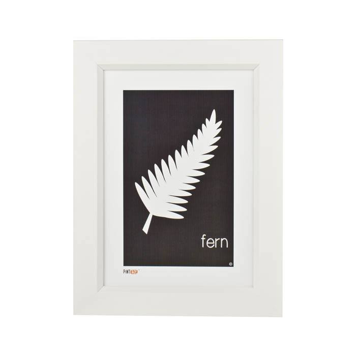 Pint Size Fern Print (A4) | Koop.co.nz