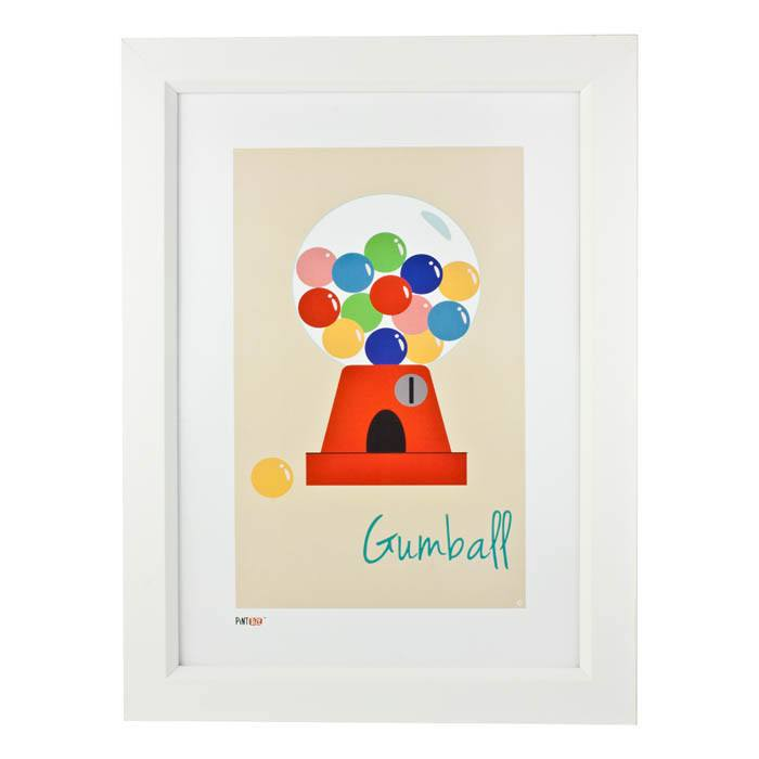 Pint Size Gumball Print (A3) | Koop.co.nz