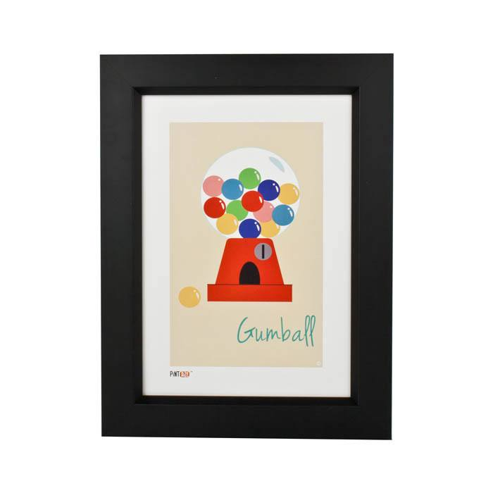 Pint Size Gumball Print (A4) | Koop.co.nz