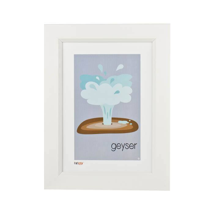 Pint Size Geyser Print (A4) | Koop.co.nz