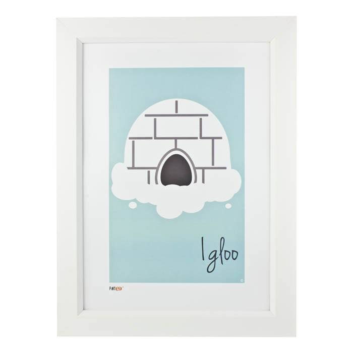 Pint Size Igloo Print (A3) | Koop.co.nz