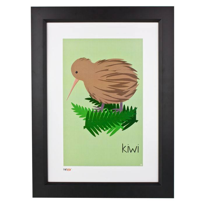 Pint Size Kiwi Print (A3) | Koop.co.nz