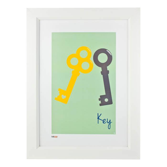 Pint Size Key Print (A3) | Koop.co.nz