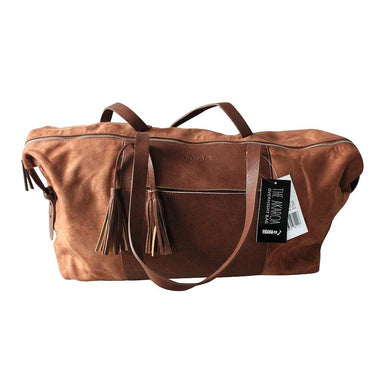 Moana Road Akaroa Overnight Bag - Tan | Koop.co.nz