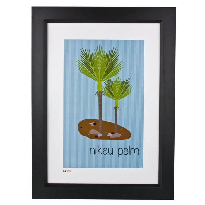 Pint Size Nikau Palm Print (A3) | Koop.co.nz