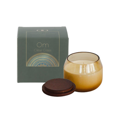 Only Orb Smoke Glass Candle Refil - Om | Koop.co.nz