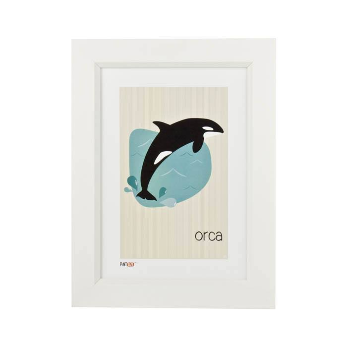 Pint Size Orca Print (A4) | Koop.co.nz