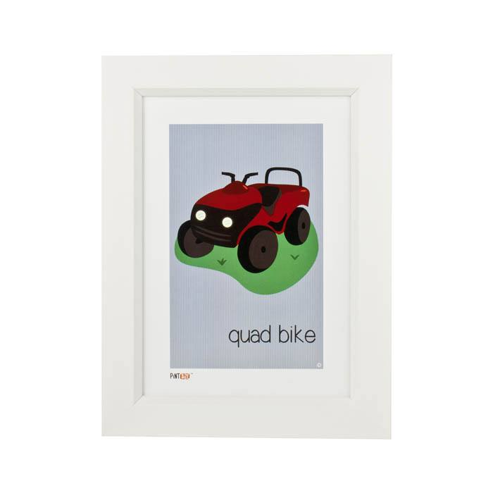 Pint Size Quad Bike Print (A4) | Koop.co.nz