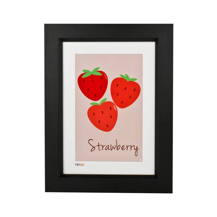 Pint Size Strawberry Print (A4) | Koop.co.nz